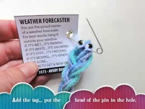 storm glass weather forecaster instructions