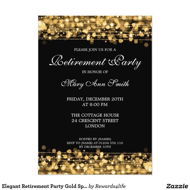 8 best Retirement Party Invite images on Pinterest | Retirement ...