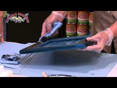 How to Apply General Finishes Glaze Effects over Milk Paint & Make Repairs