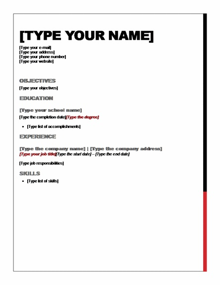 23 best Resume images on Pinterest Note, Foods and Hunting - resume for beginners