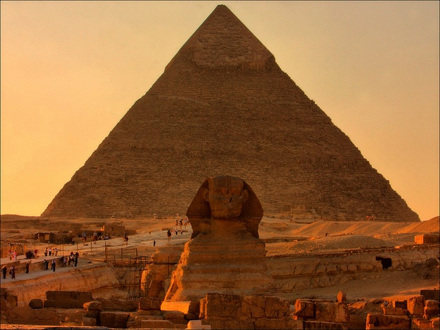 The Sphinx and The Pyramid