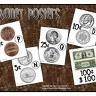 Posters to hang in your classroom on your math wall.  Shows heads and tails side of each coin, along with its value.  Posters for Penny, Nickel, Di...Dollar Include, Grade Freebies, Education Money, Schools Stuff, Posters Head, Money Posters, Math Wall, Classroom Ideas, Tail Side