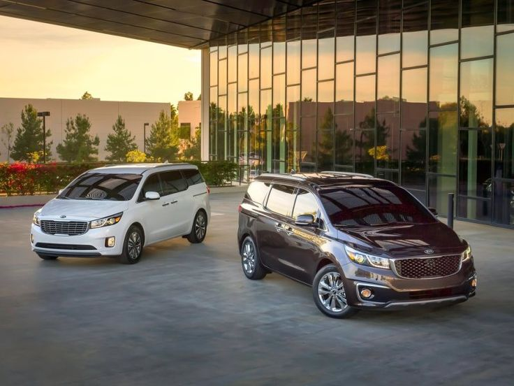 07. The 2015 Kia Sedona Can Be Had In Five Trim Levels | The Kia Sedona L offers the sliding 2nd row seats, air conditioning, Bluetooth, and a 4-speaker stereo system, while the LX introduces a rearview camera, parking assistance, and a power driver's seat. The EX trim adds USB ports,  push button start, automatic climate control, and leather upholstery.  The Sedona SX comes with the ability to select from multiple drive modes and heated seats; the Limited goes all-out!