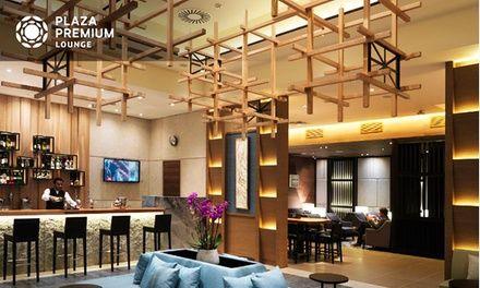 Londres-Heathrow : Accès à Plaza Premium Lounge avec collations, boissons - champagne et modelage en option pour 1 pers.