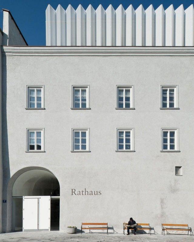 Rainer Köberl, Giner + Wucherer > Rathaus Kufstein | HIC Arquitectura