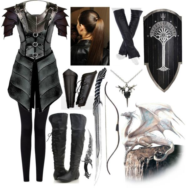 Dragon Rider by lilacmayn on Polyvore featuring Forever 21, Imoni and Braun