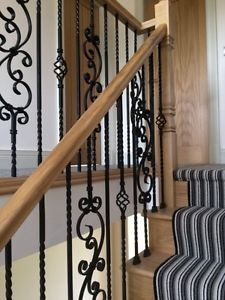 PHG Services Wrought Iron Metal Stair Spindles ANY QUANITY