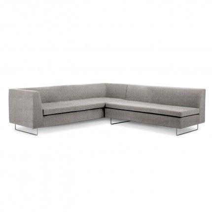 [001] Bonnie & Clyde Sectional Sofa: 96w x 98.5l x 16.5h (seat)