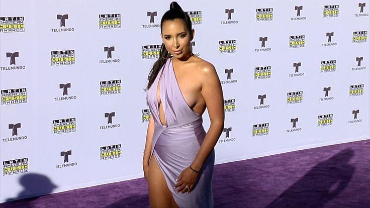 Mariale Marrero 2017 Latin American Music Awards – hot Purple Carpet