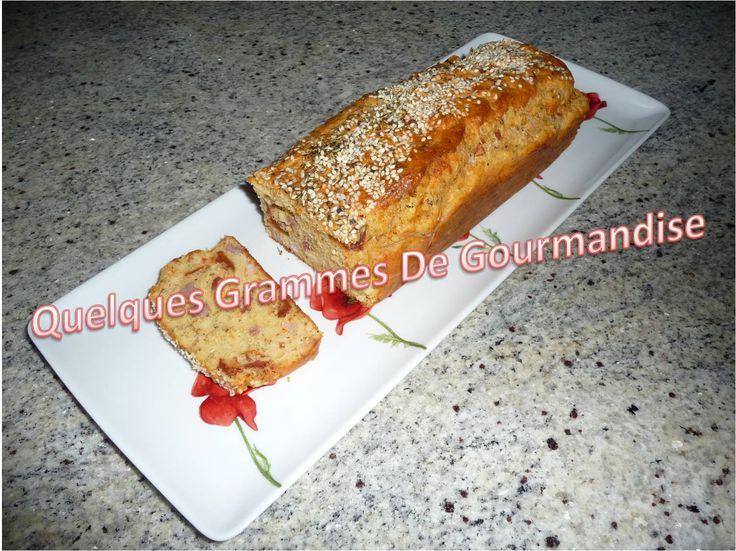 CakeChevreLardonsTomatesSecheesQGDG