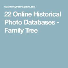 22 Online Historical Photo Databases - Family Tree