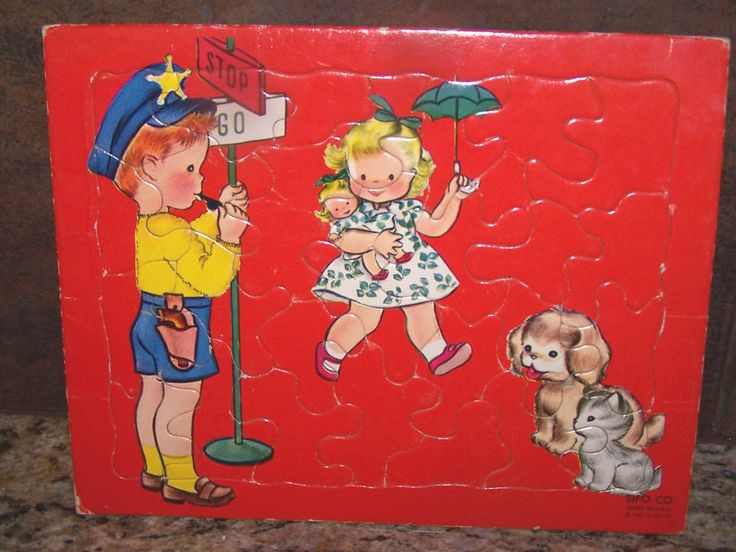 US $3.99 Used in Toys & Hobbies, Puzzles, Pre-1970