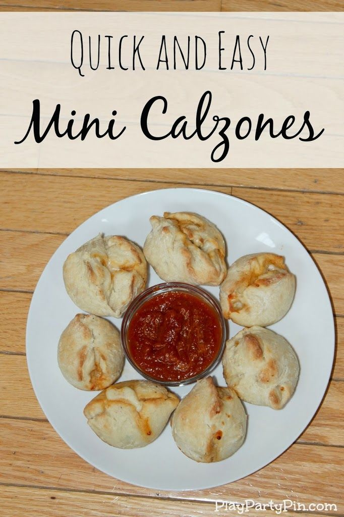 Quick Mini Calzones and #PamSmartTips for Muffin Tin Cooking {Giveaway} - Play.Party.Pin