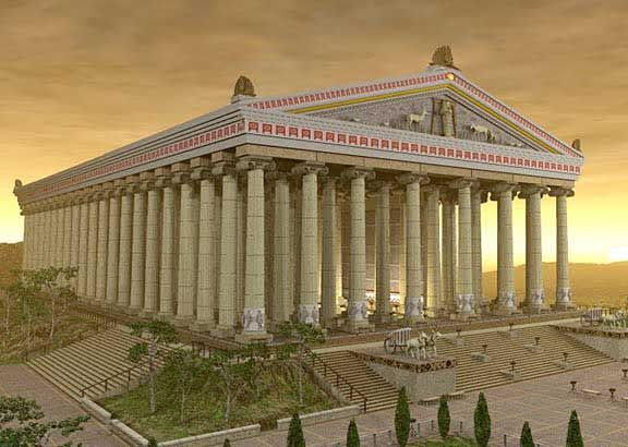 Temple of Artemis - Ancient Roman Temples - Crystalinks