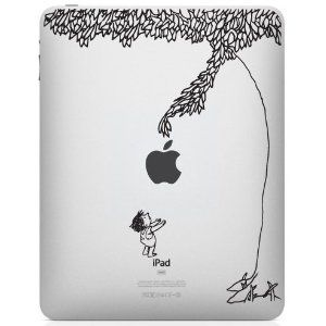 Yep, I might need to buy this! + The Giving Tree iPad Decal + http://www.amazon.com/The-Giving-Tree-iPad-Decal/dp/B0076R1B9E