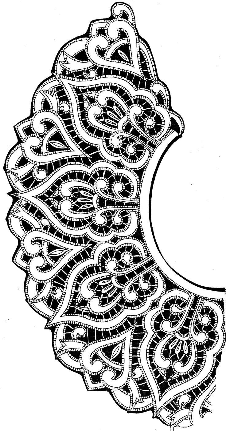 схема вышивки Ришилье