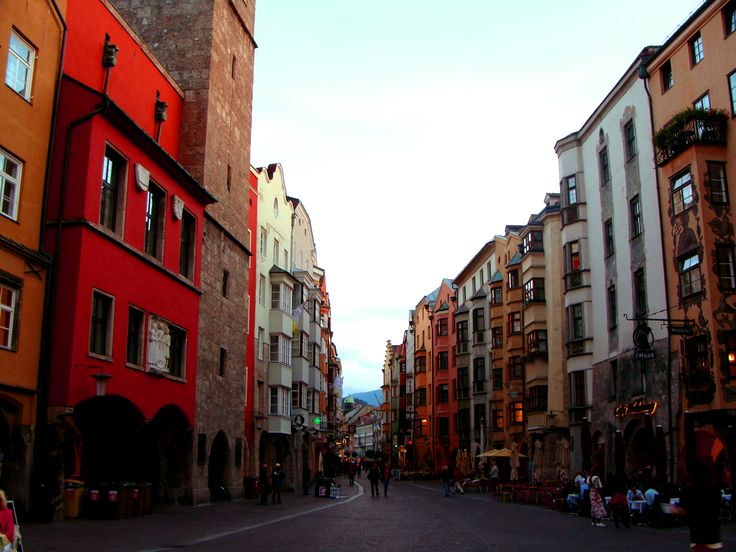 Welcome to the Capital of the Alps!  Innsbruck, Austria