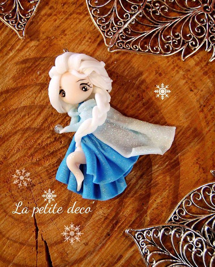 fimo reine des neiges
