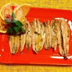 Marinierte frische Sardellen (Alici marinate) aus Sardinien @ de.allrecipes.com