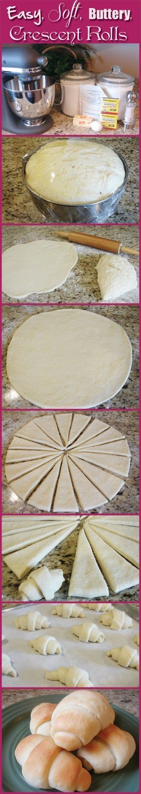 No more processed Pillsbury! Best Crescent Rolls Ever Recipe ~ absolute BEST…