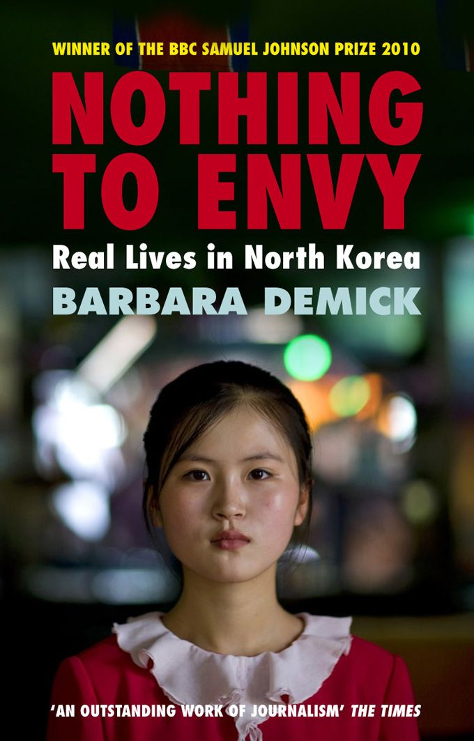 Book about real life in North Korea. Terrifying and fascinating story