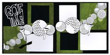 Out On A Limb Scrapbooking Premade Page Kit - Golf Time!