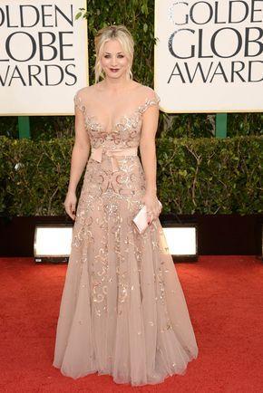 Globos de Oro 2013: La alfombra roja. Estropea el vestido con el maquillaje rockero