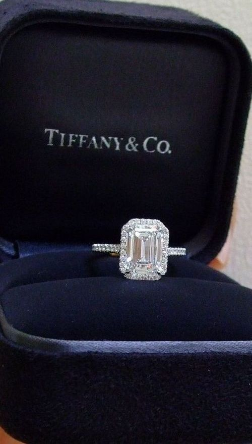 Tiffany & Co diamond ring - Anastassia Krez