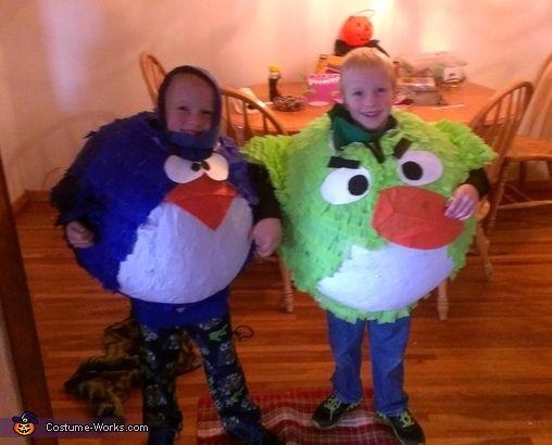 Angry Birds Twin Boys - Halloween Costume Contest via @costumeworks