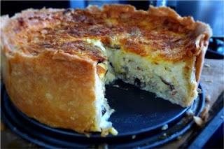 Thomas Keller quiche. He makes the best quiche known to man