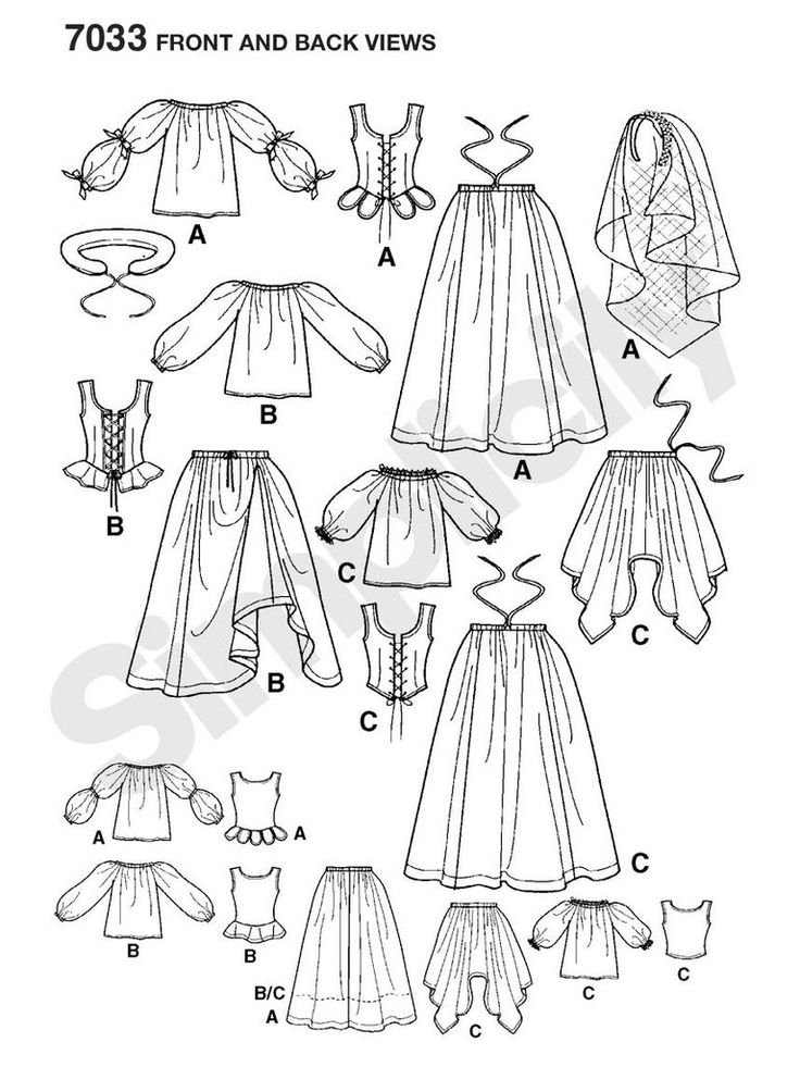 Historisches Kleid für die Magd                                                                                                                                                                                 Mehr