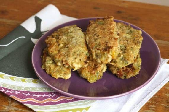Hamburguesas de patata y verduras