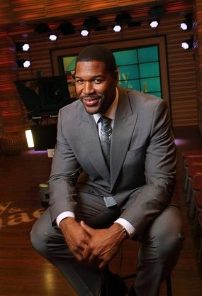 "In the NFL, Michael Strahan was an imposing figure, but now paired with Kelly Ripa on ""Live!"", he's become morning TV's gentle giant.  MORE: Michael Strahan is morning TV's big guy"