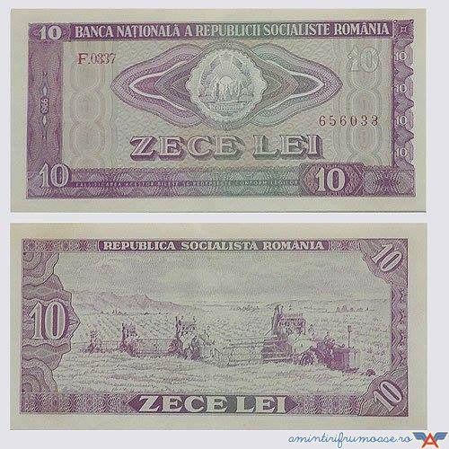 Bancnote de 10 lei