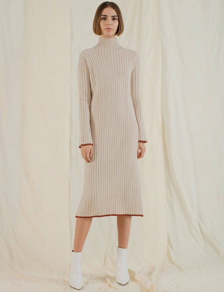 a6e0a07f02f Best Turtleneck Sweater Dresses To Buy This Winter 2018