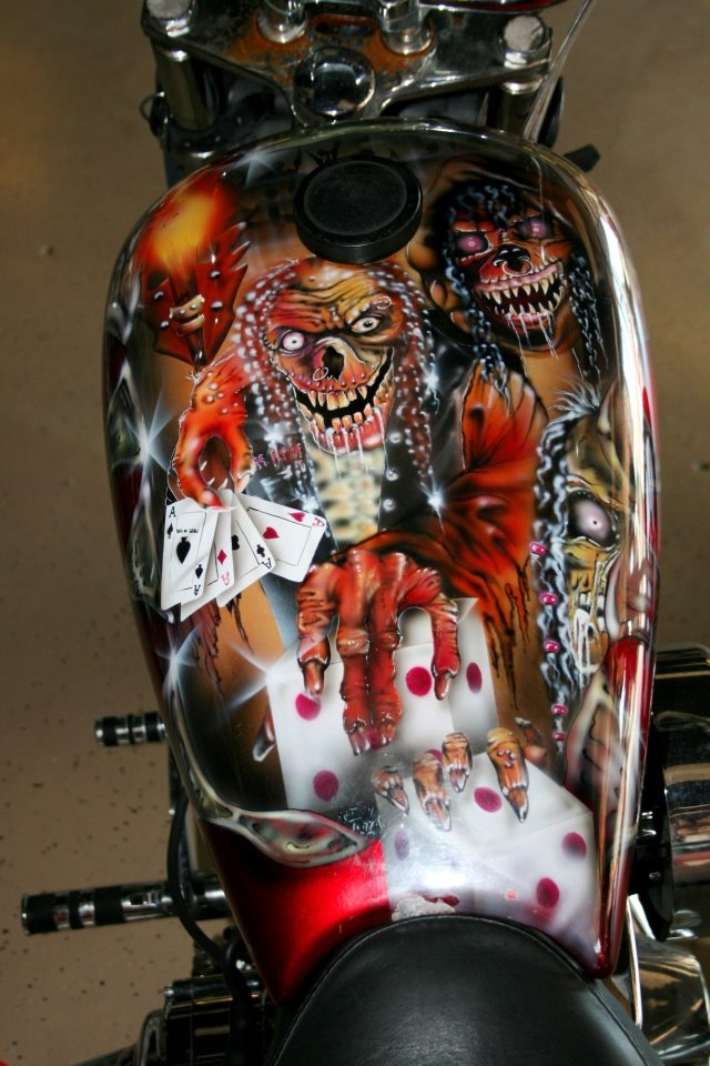 177 Best Kick A Custom Paint Images On Pinterest Airbrush Art Biking And Custom Paint