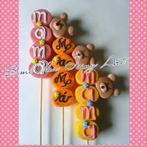 Marshmallow pop's