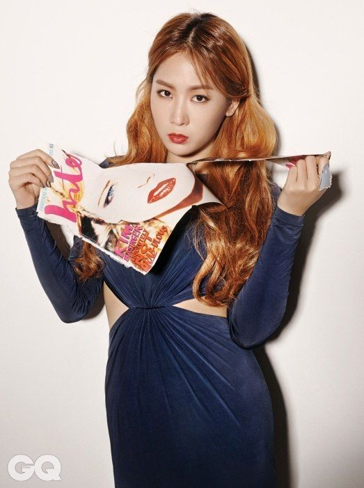 awesome Soyu (Sistar) for GQ, December 2014