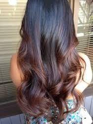 Resultado de imagen para dark balayage cabello lacio