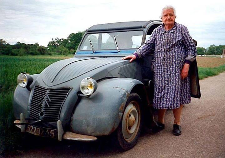 2cv femme probably bought this new