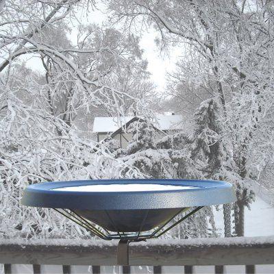 Birds Choice Heated Bird Bath - Deck Mount - HDECK-BL