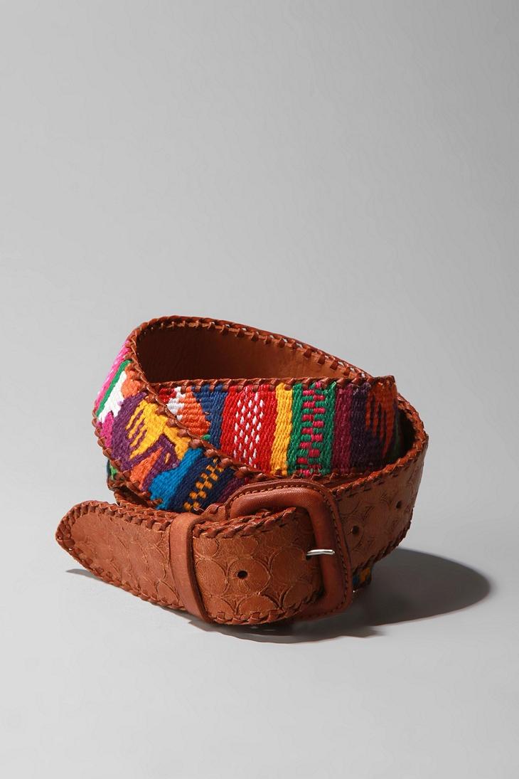 Nepal Leather Belt  #UrbanOutfitters