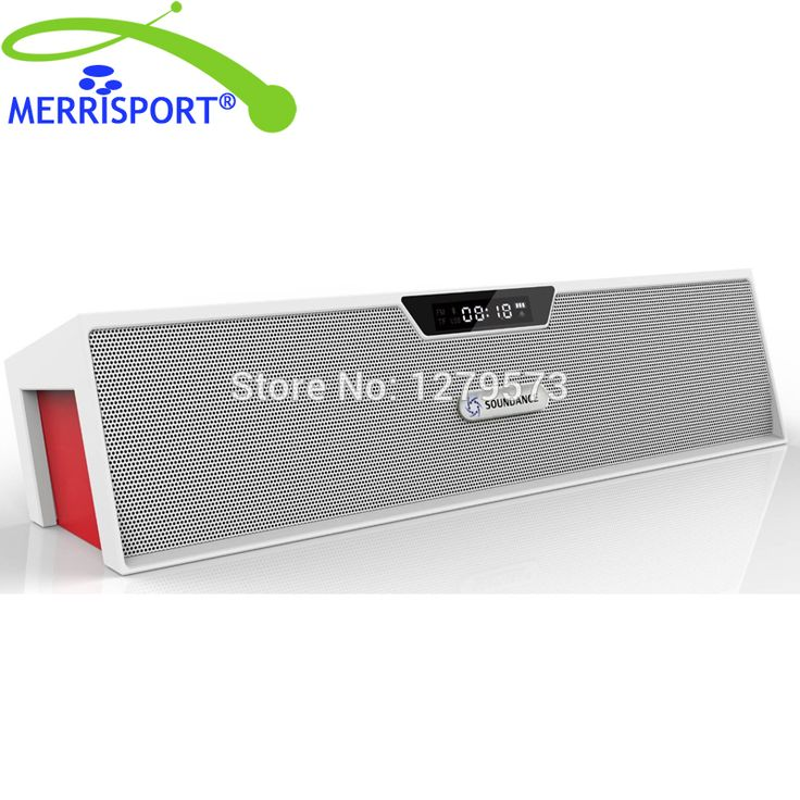 ==> [Free Shipping] Buy Best Bluetooth Speakers with FM Radio Alarm Clock Built-in Mic LED Display Support 3.5 mm Audio Jack Micro SD Card & USB Input Online with LOWEST Price | 32691871063
