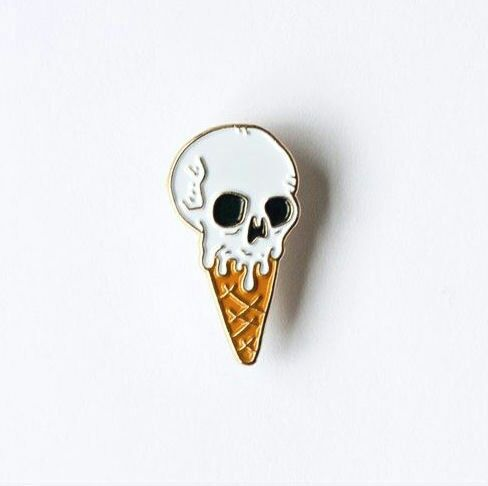 pin and skull image