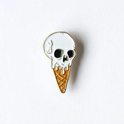 pin and skull image