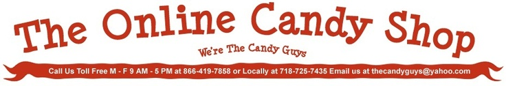 Welcome to The Online Candy Shop, your convenient, one stop, online candy store. We offer a huge selection of candy, from traditional favorites to hard to find retro candies.