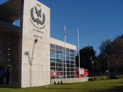 Fire Station 19 Compañía Cuerpo de Bomberos de Santiago, Lo Barnechea, Chile
