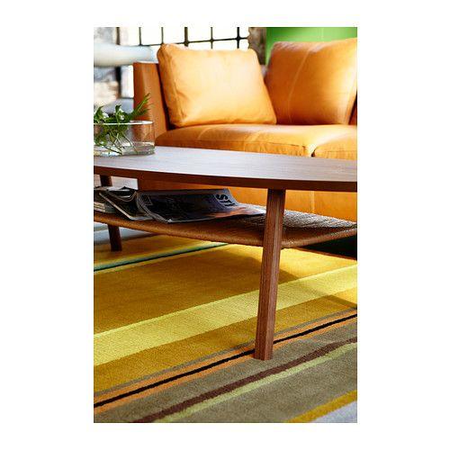 STOCKHOLM Tapis, poil ras IKEA Pure laine vierge pour un tapis peu salissant et durable.