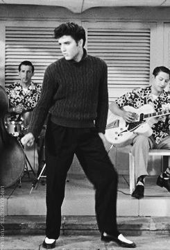 (You're So Square) Baby I Don't Care; Elvis in Jailhouse Rock 1957
