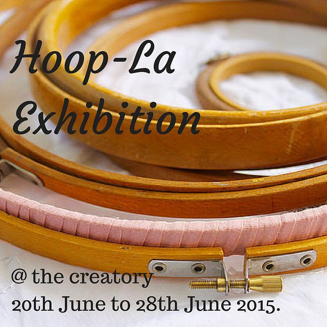 Hoop-La Exhibition Poster at the creatory